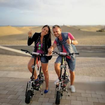 Tour de scooter électrique