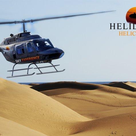 La côte sud en hélicoptère
