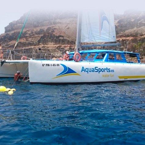 Excursion en bateau à catamaran