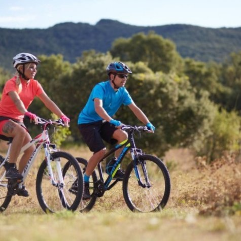 Tour de vélo de montagne